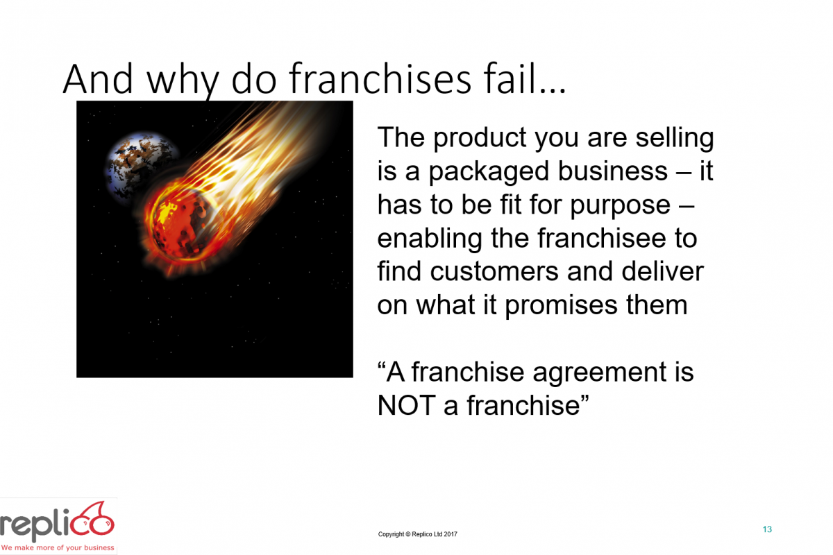 Franchise Your Business 13